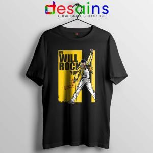 We Will Rock You Tshirt Freddie Mercury Kill Bill Tee Shirts