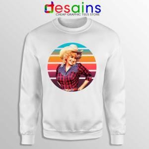 Dolly Parton Retro Style Sweatshirt Country Music Vintage