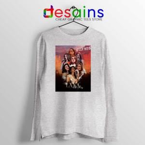 Lana Del Rey Hollywood Sport Grey Long Sleeve Tee Born to Die T-shirts