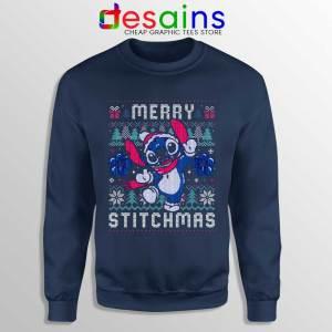 Merry Stitchmas Sweatshirt Stitch Ugly Christmas Sweaters