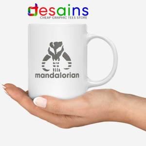 Mythosaur Skull Adidas Mug Mandalorian Symbol Coffee Mugs