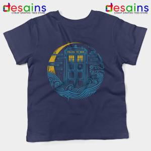 Police Box Dr Who Kids Tee The Traveler Tardis Youth Tshirts