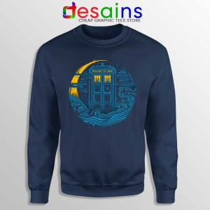 Police Box Dr who Sweatshirt The Traveler Tardis Sweaters