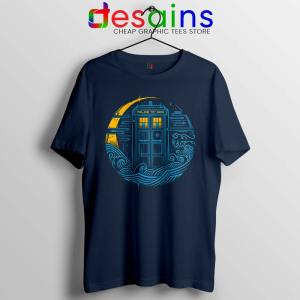 Police Box Dr who Tshirt The Traveler Tardis Tee Shirts