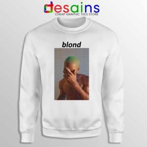 Blonde Frank Ocean White Sweatshirt