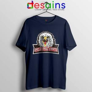 Cobra Kai Eagle Fang Navy T Shirt Karate Kid
