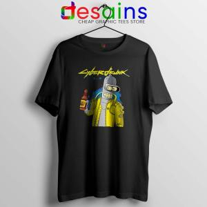 Cyberpunk 2077 Bugs T Shirt Cyberdrunk Graphic Tees