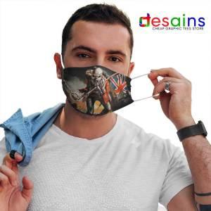 Invasion of Rarities Skull Mask Cloth Iron Maiden