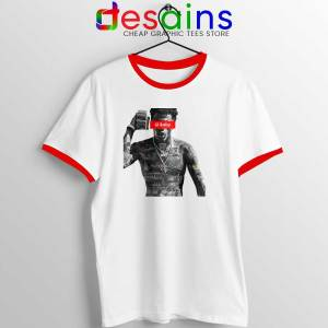Lil Baby Money Red Ringer Tee American Rapper