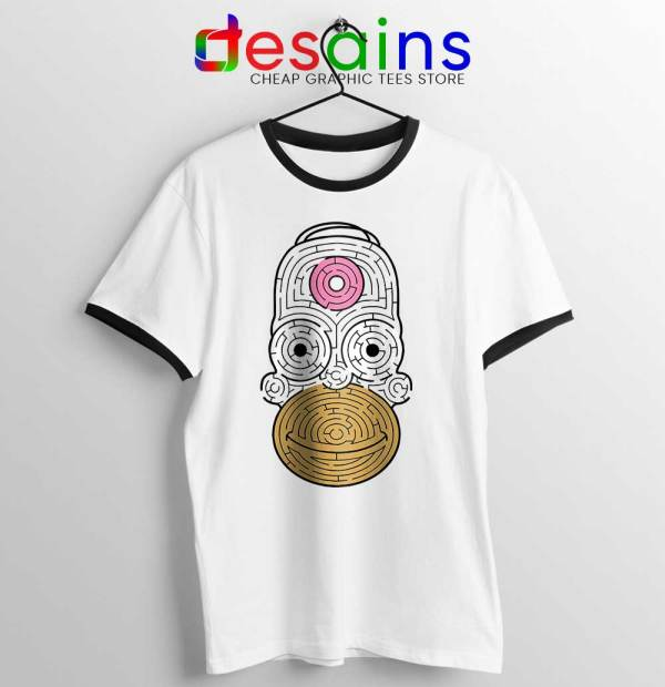 Simpson Mmm Homer Ringer Tee Real Life The Simpsons
