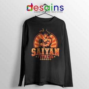Super Saiyan Workout Long Sleeve Tee Goku Gym