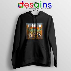 All Time Low Don t Panic Tour Black Hoodie Band Merch