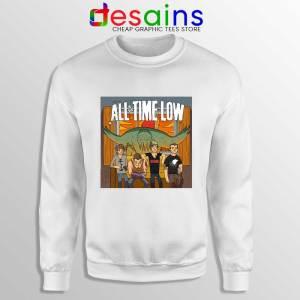 All Time Low Don t Panic Tour Sweatshirt Band