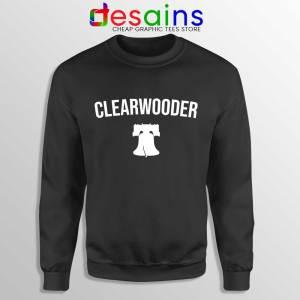 Clearwooder Bryce Harper Phillies Black Sweatshirt MLB