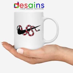 Just DO It Milk Snake Mug Funny Nike
