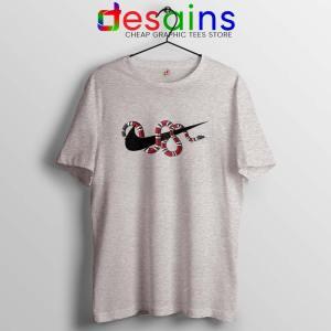 Just DO It Milk Snake Sport Grey T Shirt Funny Nike
