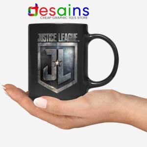 Justice League Logo Snyder Cut Black Mug Zack Snyder's
