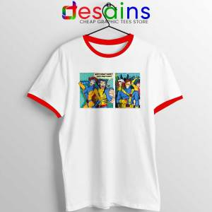 Scotty Doesnt Know Red Ringer Tee X-Men Comics
