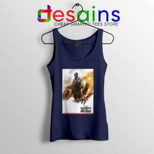 The Falcon and Winter Soldier Navy Tank Top Avengers Endgame