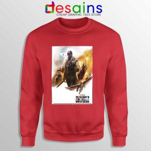 The Falcon and Winter Soldier Red Sweatshirt Disney+