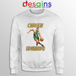 Carsen Edwards Celtics Cheap White Sweatshirt
