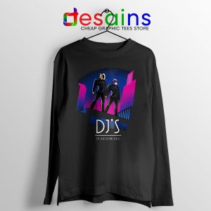 Daft Punk Break Up Reason Long Sleeve Tee Electronic Duo