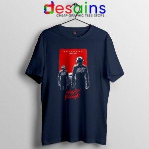 Epilogue Daft Punk Navy T Shirt The French Electronic Duo