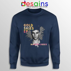 Gold Skies Martin Navy Sweatshirt Extended Play