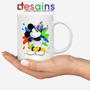 Mickey Mouse On Disney Art Mug Cartoon