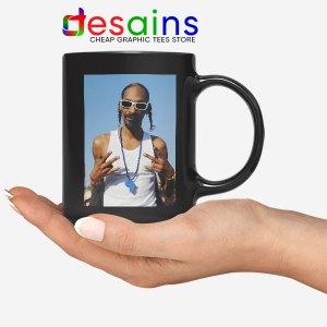 Snoop Dogg Rapper Ceramic Black Mug The Chronic