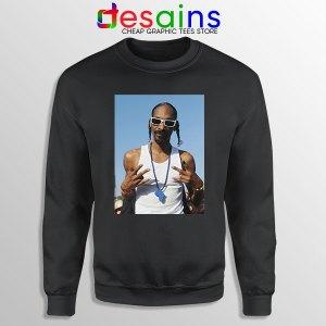 Snoop Dogg Rapper Cheap Black Sweatshirt Deep Cover
