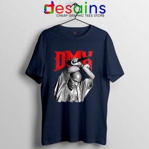 Best DMX Rapper Legend Navy T Shirt Hip hop
