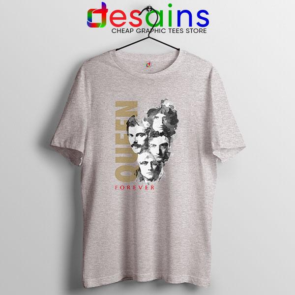 Best Forever Queen Band Sport Grey T Shirt Cheap Merch