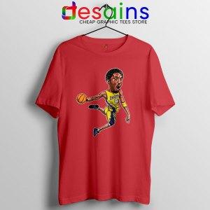 Best Kobe Bryant Game Dunk Red T Shirt NBA Lakers
