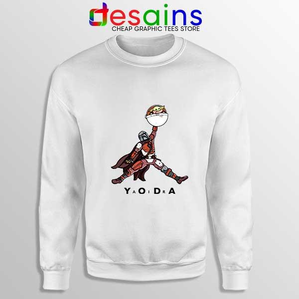 Buy Air Jordan Retro Baby Yoda Sweatshirt Mandalorian