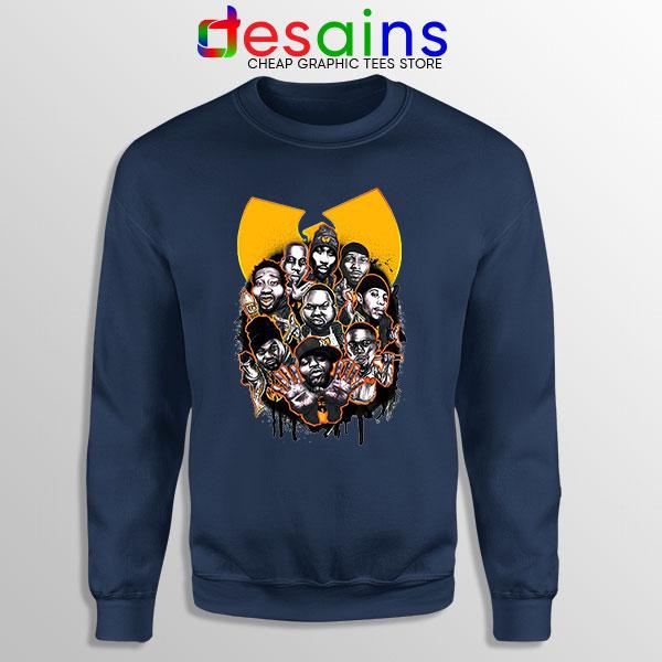 Buy Wu Tang NY Yankees Navy Sweatshirt Baseball
