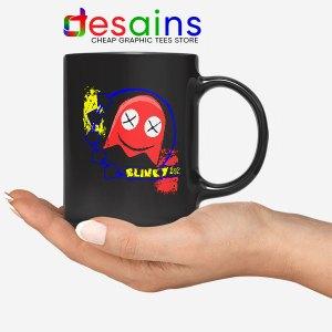 Cheap Blink 182 Game Mug Blinky Pac Man