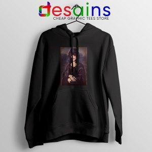 New Wave Mona Lisa Black Hoodie Ramona