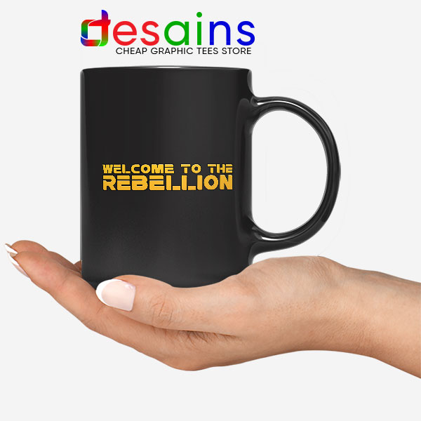 Welcome To The Rebellion Mug Gina Carano Mando