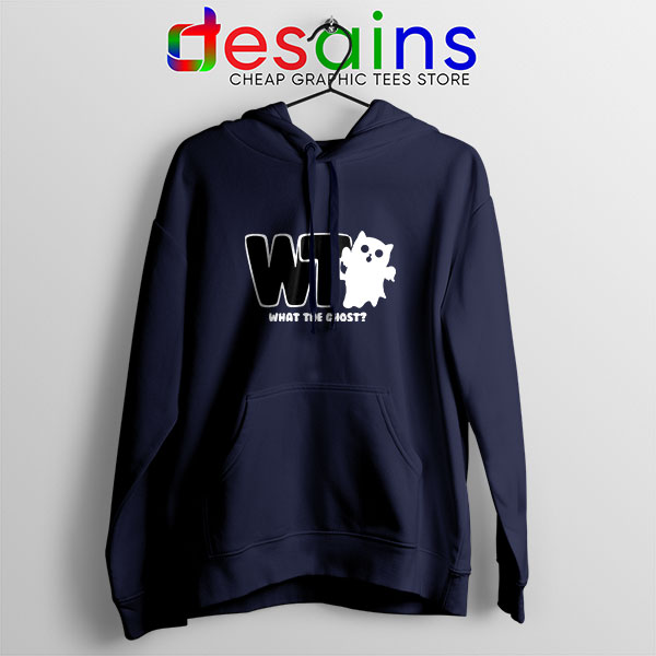 What The Ghost Navy Hoodie The Magnus Archives