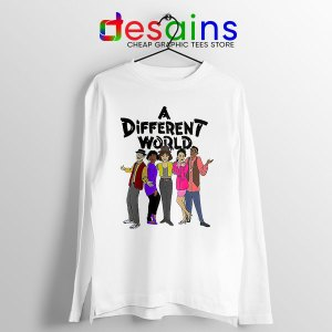 A Different World Style Long Sleeve Tee Sitcom TV