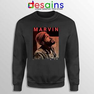 Best Marvin Gaye Tribute Black Sweatshirt Soul Singer