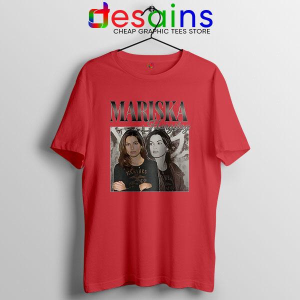 Buy Mariska Hargitay Merch Red T Shirt Law and Order Svu
