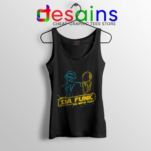 Daft Punk Star Wars Tank Top My The Force Be With You