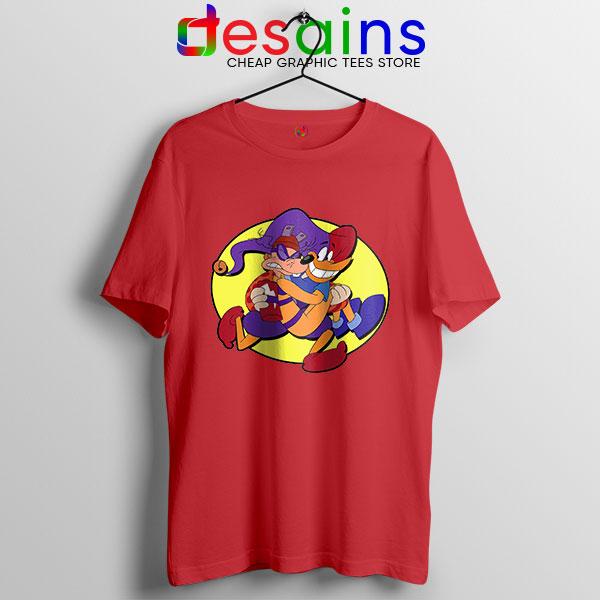 Darkwing Duck Quackerjack Red T Shirt Ratcatcher