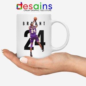 Kobe Bryant 24 Best Dunk White Mug Legend NBA