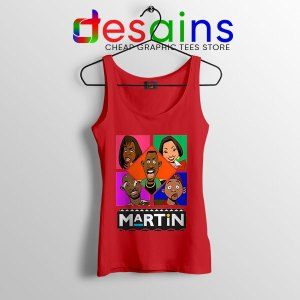 Martin TV Show Characters Red Tank Top Sitcom