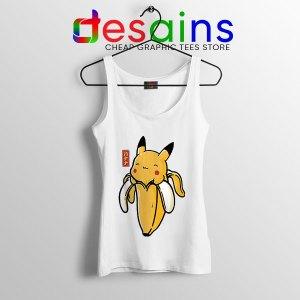 Pikachu Memes Banana Tank Top Cute Pokemon