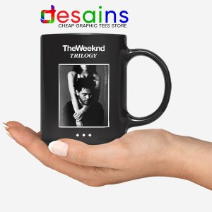 Trilogy The Weeknd Album Cover Black Mug XO Merch