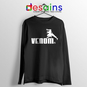 Venom 2 Puma Logo Black Long Sleeve Tee Let There Be Carnage